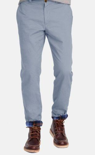 The Cadet Blue Flannel Lined Chino