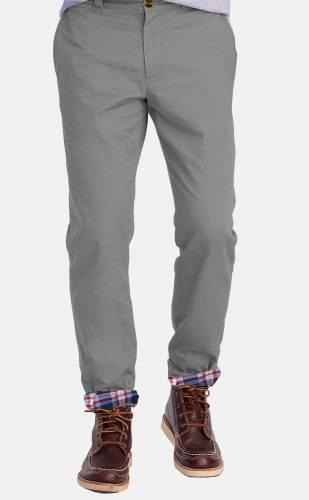 Grey Flannel Lined Chinos