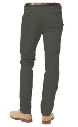 Plain Grey Chinos