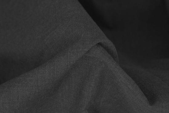 Heathered Grey Chambray Shirt Fabric