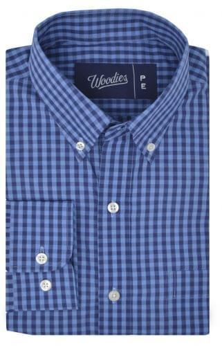 Multi Blue Gingham Shirt