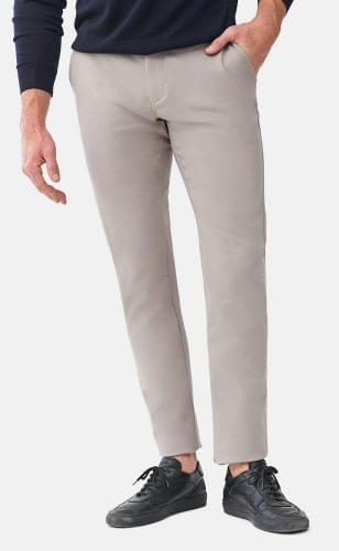 Light Grey Performance Stretch Chinos