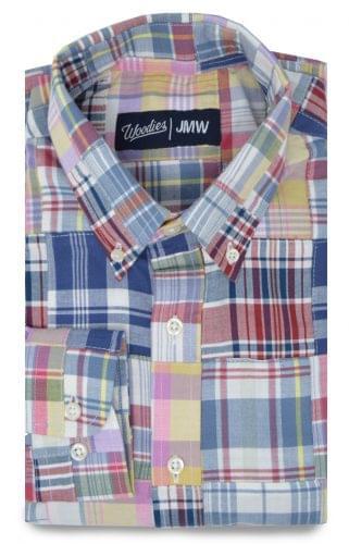 Madras Patchwork Shirt