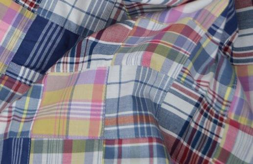 Madras Patchwork Shirt