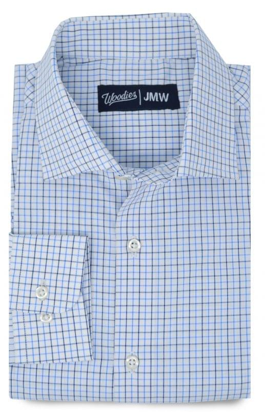 Multi Blue Tattersall Oxford Shirt