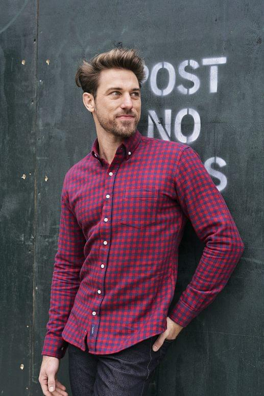 Heavyweight Gingham Double Sided Flannel