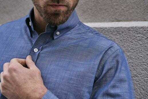 Natural Blue Denim Shirt