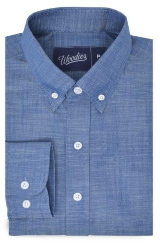 Natural Blue Denim Shirt