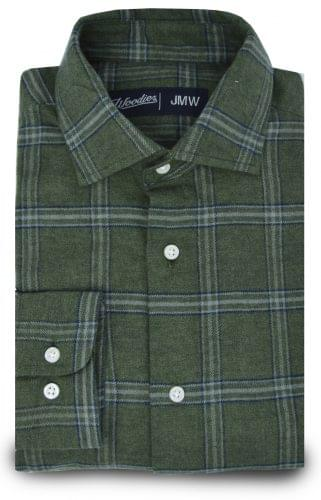 Evergreen Plaid Flannel Shirt